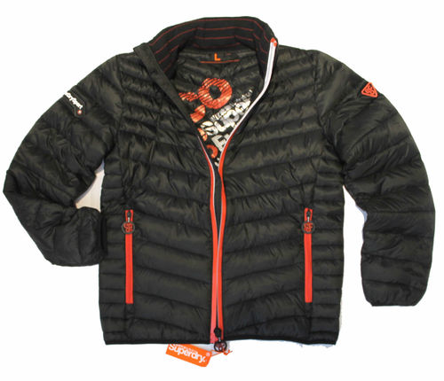 Superdry - piumino tg. L - black